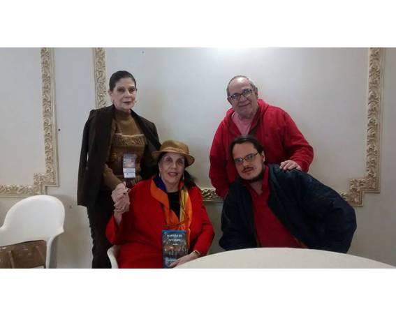 Com Heloisa Alves, Ely Vieitez Lisboa e Fernando Munhoz