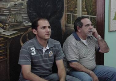 Com Augusto na Biblioteca - 2010