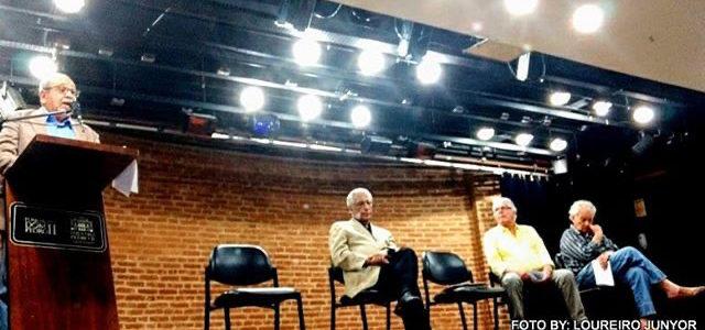 """Apresentação do livro """"Quincas Blog – Meus encontros"""", de Lauro Moreira. Teatro Pedro II, 13.12.19"""